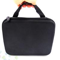Preto Multifuncional E Cig Ferramentas Kit Bag Estojo Big Vape Bolso DIY Para Embalagem de Cigarro Eletrônico Acessórios DHL Livre