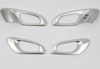 För Renault Kadjar 2015-2016 2017LHD bil dörrskålhandtag täcka ABS krom trim krom styling interiör dekoration tillbehör