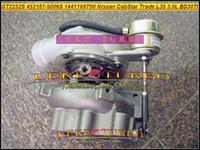 GT2252S 452187 709693-0001 14411-69T00 452187-5006S 452187-0006 Turbo for Nissan Light Truck CabStar Trade M100 L35 BD30TI 3.0L