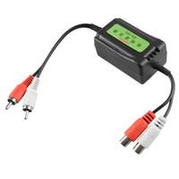 3.5mm Araba RCA Amplifikatör Ses Gürültü Filtresi Zemin Loop İzolatör Bastırıcı M00099