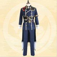 Japoński Anime Tuken Ranbu Online Nakigitsune Cool Polyester Cosplay Costume