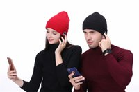 Bluetooth Hat Music Beanie Cap Bluetooth V4. 1 Stereo wireles...