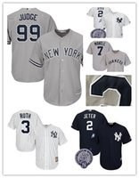stitched New York Yankees 3 Babe Ruth 7 Mickey Mantle baseba...