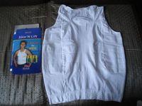 Nueva camisa para hombre que adelgaza Nueva formadora del cuerpo para hombre shapewear 140D D532