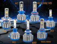 1 Set 80W 8000LM Car LED Headlights H7 H1 H3 H11 9005 9006 H...