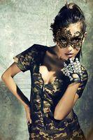 30 PCS Mulheres máscara de olho Multi Padrões Halloween Adereços Sexy Lace Partido Masquerade Máscaras Venetian Traje festa de dança feriado Preto e Branco
