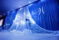 3 * 6 متر واسعة سوجس من خلفية الستارة الزفاف المصمم خلفية سوجس حزب الستار الاحتفال المرحلة الأداء خلفية الساتان الستارة جدار