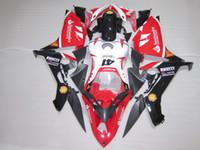 El kit de carenado más vendido para moldeo por inyección Yamaha YZF R1 07 08 rojo blanco negro conjunto carenados YZFR1 2007 2008 OT21
