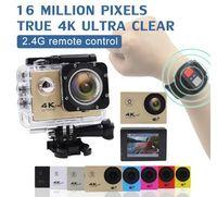 Mllse 4K Sport Camera F60 / F60R Wifi Full HD 1080P 30m كاميرا غطس مضادة للماء مع ملحقات الكاميرا للكاميرات go pro