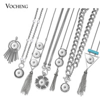 VOCHENG NOOSA Ginger Snap Charms Necklace for 18mm Snap Butt...