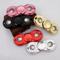 LED light 5 Colors Fidget Spinner Hand Spinner Aluminium EDC...