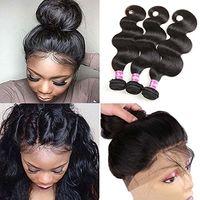 100% необработанные бразильские волосы кудрявый прямые тела свободные глубокие волны вьющиеся волосы уток человеческих волос пучки волны