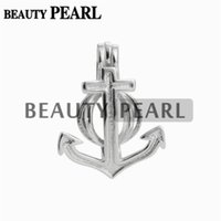 5 Pieces Pearl Cage Anchor Pendant Locket Wish Pearl Gift 92...