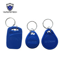 125khz EM4100 ABS Waterproof RFID Key tag for access control...