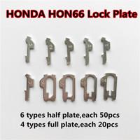 Honda Için araba Kilit Kamış HON66 Kilit Plakası (300 adet Yarım plaka, 80 ADET Tam plaka) Oto Kilit Tamir Takımları çilingir Aracı