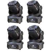 4 adet / grup DJ LED Hareketli Kafa Spot Işık 90 W Beyaz LED DJ Sahne Aydınlatma DMX 14 Kanallar