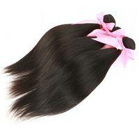 Cabelo brasileiro Weave Mikhair Cheap Extensões de Cabelo Humano Cor Natural Peruano Malásio Indiano Camboja Mongolian Hair 3 Peças