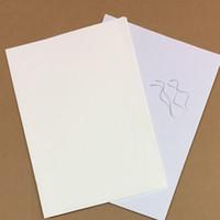100 hojas printinng papel 75% algodón 25% Lino Pase Papel Papel de prueba de alta calidad con fibra de color A4 Tamaño
