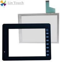 NEUES V808CD V808SD V808CH V808iCD V808iCH HMI-PLC-TouchScreen UND vorderer Aufkleber Film Touch Screen UND Frontlabel