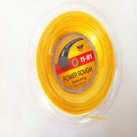 Большая сила алу продвижения грубая строка 125 660ФТ тенниса КЕЛИСТ бренда только цвет золота ,добро пожаловать на заказ