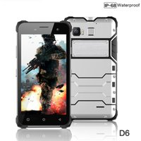 Jeasung D6 4G LTE IP68 Waterproof Rugged Smartphone 5 Inch A...