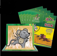 Yapışkan fareler kurulu fare sopa yapışkan sıçan plaka sopa fareler tutkal fare kapanı deratization CYB32