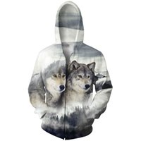Wholesale- NEW Men' s 3D Novelty Pullover Hoodies Print W...