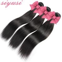 Cheveux vierges brésiliens doux non transformés cheveux indiens vierges péruviens malaisiens mongols droits humains naturels naturels