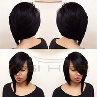 New Black Synthetic Hair Wigs For Black Women Cheap Female W...
