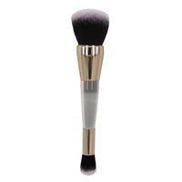 Professionelle Teint-Puder-Foundation-Creme-Make-up-Bürste Dual-ended Nass- / Trockengesicht Make-up Pinsel Kosmetik Beauty-Tool