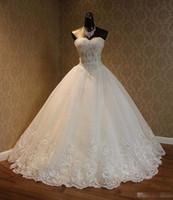 2020 Vintage Plus Размер полный шнурок линия Свадебные платья Милая бисером аппликациями Часовня Поезд Свадебные платья для сада Страна Дешевые