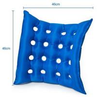 Rollstuhl Anti-Bedsorung Kissen Sitzkissen Quadratisches Luftkissen mit Pumpe Größe: 45 cm * 45 cm