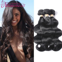 3Bundles Brazilian Body Wave Hair Weave Bundles Unprocessed ...