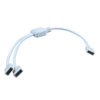1 bis 2 Ports Led Streifen Licht Verbinder Buchse Anschlusskabel 4 Pin Splitter 3528 5050 3014 für Streifen RGB-LED-Licht