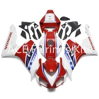 3 free gifts For Injection ABS White Red Fairings For Honda ...