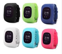Q50 scherzt intelligente Uhrkindergps-Uhrverfolgerkindersicherheitsuhr LBS Position PAS-Kindantiverlorenes für IOS-Android-Telefon NEU