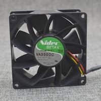 Nidec VA350DC V35131-58 9038 24V PWM temperature control cooling fan