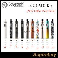 Joyetech eGo Aio Kit All-in-One-Gerät mit 1500mAh Akku und 2ml e Liquid Beleuchtung LED 10 neue Farben New Arrivals New Pack