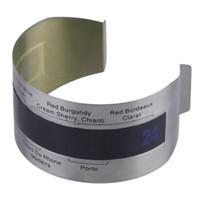 الفولاذ المقاوم للصدأ LCD الكهربائية النبيذ الأحمر ميزان الحرارة الرقمي متر تغيير لون النبيذ الأحمر الحرارة