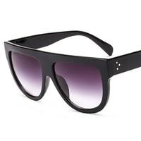 حار بيع تعزيز سعر النساء الكلاسيكية المتضخم النظارات الشمسية خمر مربع ريفيت النساء نظارات شمسية مصنع الجملة مباشرة