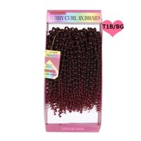 Ombre braiding hair 10inch freetress water wave two tone 1B ...