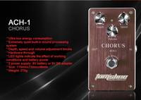 Gratis frakt Mini Pedal Tomsline Ach-1 Chorus Guitar Effekt Pedal Djäll hastighet och volym justerbar hög kvalitet