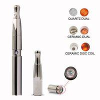 Dabstorm cera vaporizador óleo caneta frigideira quartzo bobina de aquecimento elemento e kit de cigarro cera fumar 2020 melhor vendedor