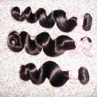 Suave longitud de mezcla de onda suelta de cabello brasileño virgen 300 g 100% paquetes de armadura de cabello humano sin teñir