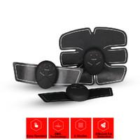 venta caliente del músculo Smart Wireless Formación dispositivo de estimulación de quema de grasa del abdomen Entrenamiento apto para uso doméstico