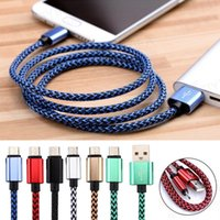 10PCS Luxury Aluminum Metal Durable Strong Nylon Braided Mic...