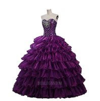 2017 Stcok Real Photo Sweetheart Ball Gown Quinceanera Dress...