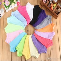 2500pair Women Solid Candy Boat Sock Slipper Summer Thin Bam...