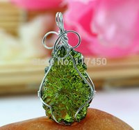 Hot Sale A+ + Natural Moldavite green aerolites crystal stone...
