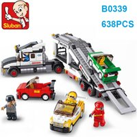 Sluban Building Blocks Auto Transport Truck Model B0339 Sets...
